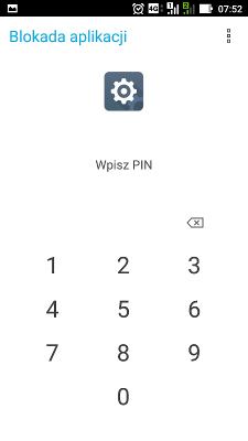 Asus Zenfone Max app lock